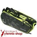 ダンロップ(Dunlop) DAC NT テニスバッグ ラケット8本収納 ブラック/イエロー ラケットバッグ【あす楽】
