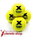 トレトン(Tretorn) マイクロエックス micro X ノンプレッシャー テニスボール 4個セット イエロー×イエロー【あす楽】