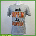 ★宝くじプレゼント(2万円以上購入で)★ナイキ(Nike) USオープン NYC We're Open ロゴ Tシャツ グレー【あす楽】