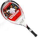 【お買い得!エントリーモデル】Wilson (ウイルソン) フェデラーチーム ストリングス張り済みテニスラケット【あす楽】【あす楽_土曜営業】【あす楽_日曜営業】【あす楽_年中無休】