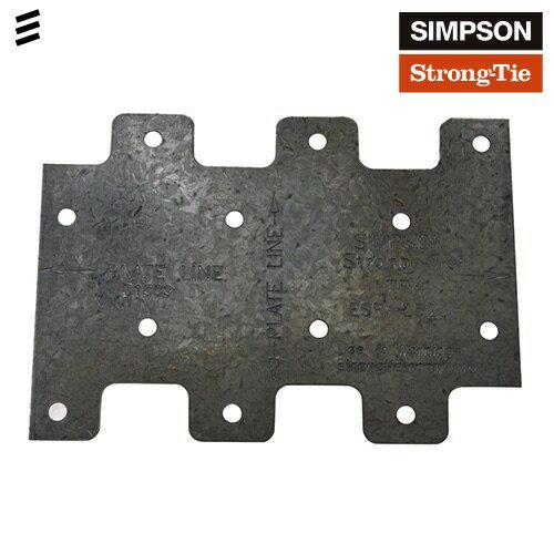 SIMPSON LTP4ラテラルタイプレート[15個] []DIY/SIMPSON/ガレージ/小屋/ウッドデッキ/2x 4/ツーバイフォー/金具