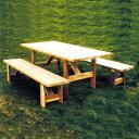 【DIYキット】DIYの定番工作!ピクニックテーブルキット《シンプソン金具と専用ビスのキット》SIMPSON金具