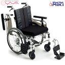 車椅子 車いす 車イス MiKi ミキ MM-Fit Hi 20 介護用品 送料無料
