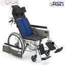 車椅子 車いす 車イス MiKi ミキ BAL-13 介護用品 送料無料