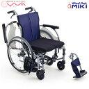 車椅子 軽量【MiKi/ミキ】CRTシリーズ カルッタ CRT-3