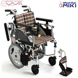 車椅子【MiKi/ミキ】電動ユニット装着車椅子SKT_JUX