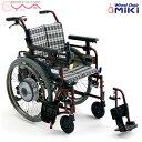 車椅子【MiKi/ミキ】電動ユニット装着車椅子M-JWX-1 P