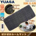ホットマット YGM-50V(GY) グレー ホットカーペット 1畳/1人用 ぽかぽかルームマット ...