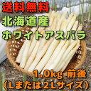 みずみずしく、しゃきしゃきとした食感で食べ応えのある北海道産のアスパラを送料無料で全国にお届けします。