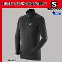 サロモン (SALOMON) S-LAB X ALP HZ MIDLAYER Men S-LAB X アルプ ハーフジップ ミッドレイヤー メンズ カラー:BL...