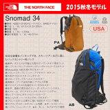 ��¨�в� �����ڢ����Ρ����ե����� THE NORTH FACE SNOMAD 34���å�NM61552 ��TNF_2015FW��