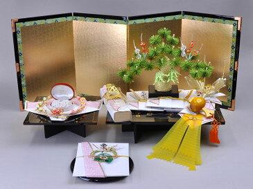 結納 -コンパクト結納品-相田みつを 大和二号セットスタイル2【毛せん・目録付き】