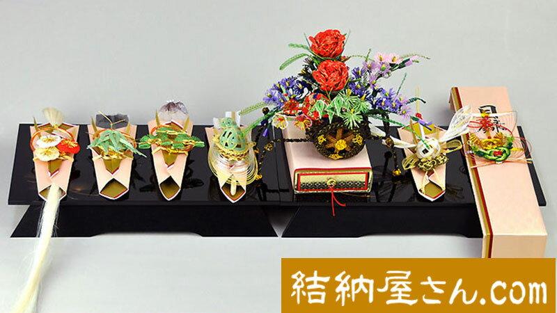 【結納フェア商品 ポイント2倍】関東式御所車7点...の商品画像