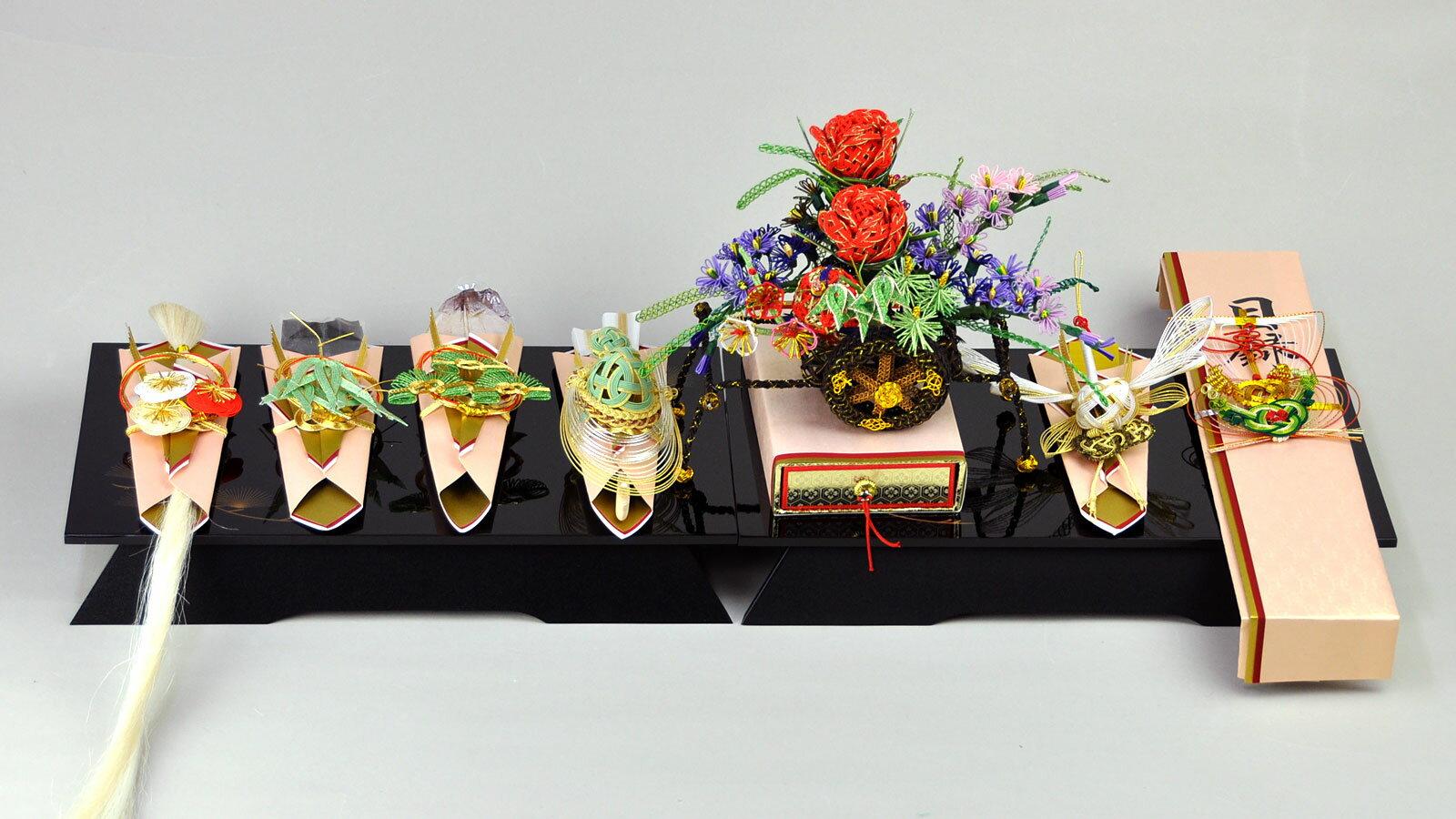 【結納フェア商品 ポイント2倍】関東式御所車7...の紹介画像2