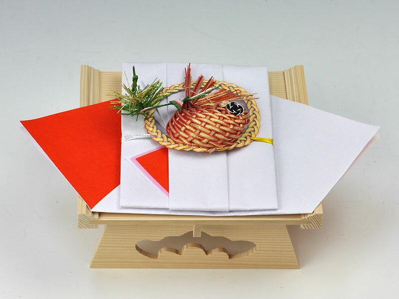 鯛料金封(白木台付)