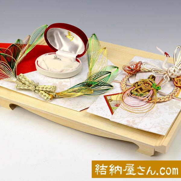 結納-略式結納品- プラチナセット1【送料無料】【結納セット】...:yuinouyasan:10000575