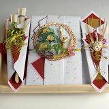 独特的订婚礼物一套三东正教马汉弗Yukashii传统的店铺 - 一个简单的,但在中心 - 七股白翔,海龟和双方的起重机,我曾经工作水引吉祥。订婚 - 非正式订婚[結納-略式結納セット- 桜桃(ゆすら)]