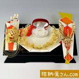 結納 -指輪メインの結納品-パール指輪セット1(毛せん付)