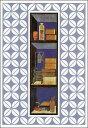 ポストカード 【アート】 韓国の画家「屏風の部分図」【150×105mm】(CN7700)