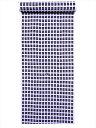 キッズ浴衣反物(5.7m)白地・井桁柄・No.787