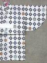 乳児浴衣(1,2才) SY-16 てんとう虫柄・白地