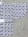 男の子浴衣(1,2才) SY-18 さかな柄・白地
