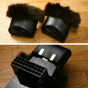 Snow boots (toe cap ) warm protection against the cold item 10% off!) of the clogs cover soft and fluffy fur attached to the original brand   one piece of article  clogs