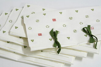 ★ small 5 piece set ★ ◆ original brand dayflower ◆ Tatou モノグラムロゴ with paper size ( 半巾 belt, accessory for )