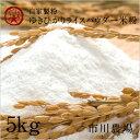 【自家製粉】ゆきひかりライスパウダー米粉5kg
