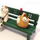デコレ(DECOLE)concombre まったりマスコット 子猫とワイン 三毛猫(猫雑貨 ねこ雑貨 ネコ雑貨 猫グッズ ねこグッズ ネコグッズ キャット)