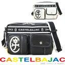 【20周年記念クーポン配布中!】ショルダーバッグ メンズ CASTELBAJAC カステルバジャック ドミネシリーズ 斜めがけ 肩掛け 男女兼用 メンズバッグ バッグ プレゼント 鞄 かばん カバン bag ブランド 送料無料 海外旅行バッグ