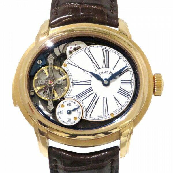 オーデマ・ピゲ AUDEMARS PIGUET ミレネリー ミニッツリピーター 26371OR.OO.D803CR.01 ホワイト文字盤 メンズ 腕時計 【中古】