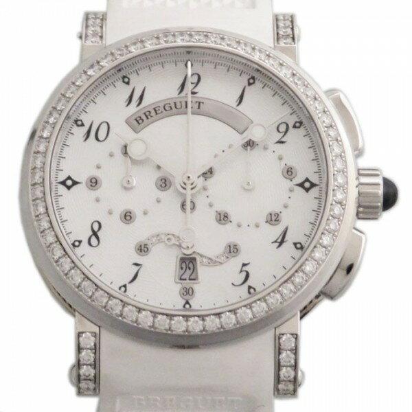 ブレゲ BREGUET マリーン 8828BB/5D/586DD ホワイト文字盤 レディース 腕時計 【新品】