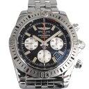 ブライトリング BREITLING クロノマット44 エアボーン A005B13PA ブラック/シルバー文字盤 メンズ 腕時計 【中古】