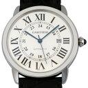 カルティエ CARTIER ロンドソロ XL W6701010 シルバー文字盤 メンズ 腕時計 【新品】
