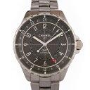シャネル CHANEL J12 GMT クロマティック H3099 ブラック文字盤 メンズ 腕時計 【新品】