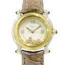 ショパール CHOPARD ハッピースポーツ 27/824623 ホワイト文字盤 レディース 腕時計