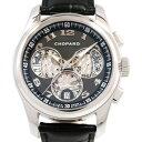 ショパール Chopard L.U.Cクロノワン 161916-1001 ブラック文字盤 新品 腕時計 メンズ