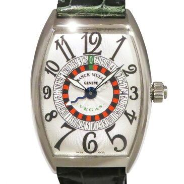 フランク・ミュラー FRANCK MULLER トノウカーベックス ヴェガス 6850VEGAS シルバー文字盤 メンズ 腕時計 【新品】