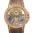 ハリー・ウィンストン HARRY WINSTON オーシャン バイレトロ 400/UABI36RC.MD ブラックシェル文字盤 レディース 腕時計 【中古】