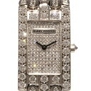 ハリー・ウィンストン HARRY WINSTON アベニュー 310LQ 前面ダイヤ文字盤 レディース 腕時計