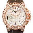 ハリー・ウィンストン HARRY WINSTON オーシャン バイレトロ デイデイト OCEABI36RR030 ホワイトシェル文字盤 レディース 腕時計 【新品】