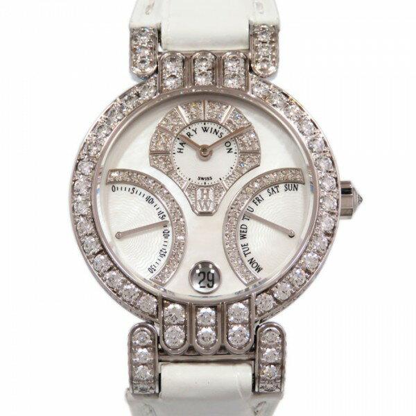 ハリー・ウィンストン HARRY WINSTON プルミエール バイレトログラード デイデイト PREABI34WW001 ホワイトシェル文字盤 ボーイズ 腕時計 【新品】