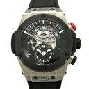 ウブロ HUBLOT ビッグバン ウニコ レトログラード クロノ 413.NM.1127.RX ブラック文字盤 メンズ 腕時計 【新品】