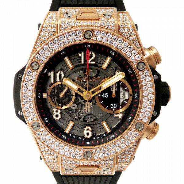 ウブロ HUBLOT ビッグバン ウニコ キングゴールド 411.OX.1180.RX.1704 グレー文字盤 メンズ 腕時計 【新品】
