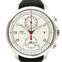 IWC IWC ポルトギーゼ ヨットクラブ クロノグラフ IW390502 シルバー文字盤 メンズ 腕時計 【新品】