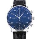 IWC IWC ポルトギーゼ クロノグラフ IW371491 ブルー文字盤 メンズ 腕時計 【新品】