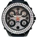 ジェイコブ JACOB&CO ファイブタイムゾーン ジャンボ ベゼルダイヤ JC-30JBD 全面ダイヤ文字盤 メンズ 腕時計 【未使用】