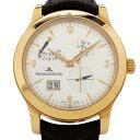 ジャガー・ルクルト JAEGER LE COULTRE マスター 8デイズ Q1602420 シルバー文字盤 メンズ 腕時計 【中古】