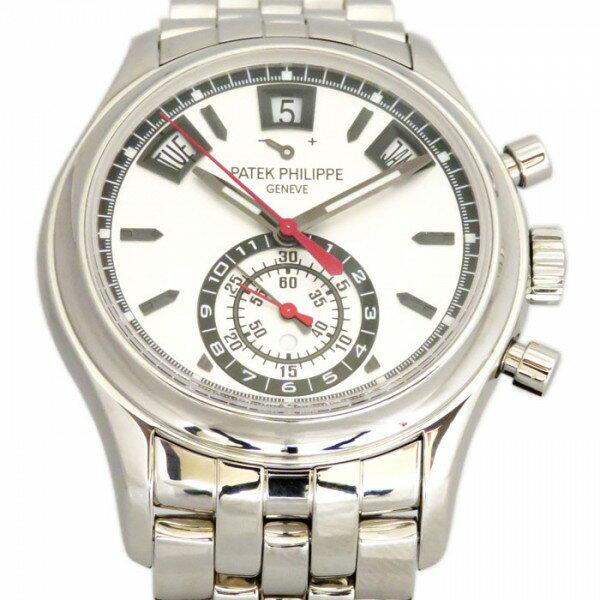 パテック フィリップ PATEK PHILIPPE アニュアルカレンダー クロノグラフ 5960/1A-001 シルバー文字盤 メンズ 腕時計 【新品】